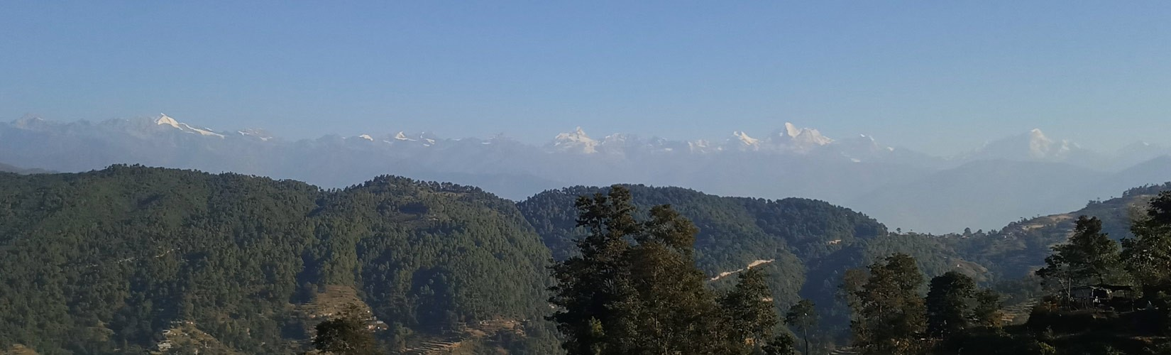 View from Nagarkot Day Hiking