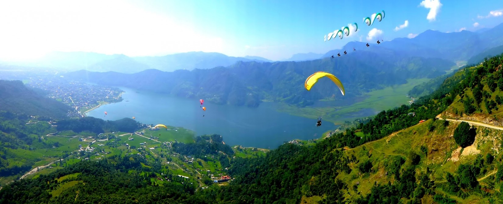 Best choice Sarangkot Paragliding takeover sport in Pokhara