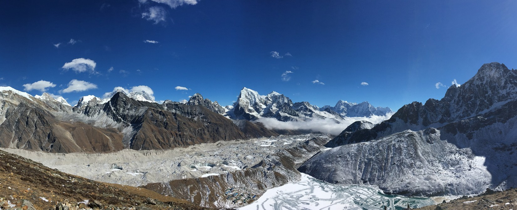 Explore the Everest region  head of the world