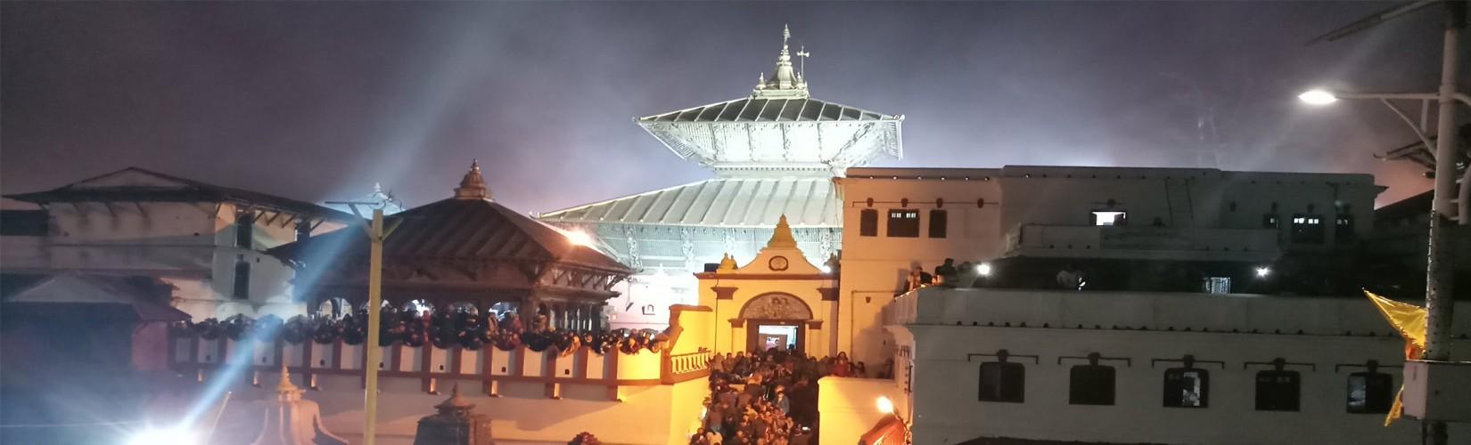Pashupatinath Lord Shiva Temple in Kathmandu