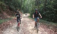 Cycling to the Nagi Gumba