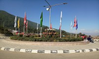 Garden of Chandragiri Cable-car Bottom station