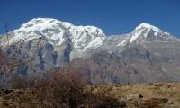 Mt:Annapurna South & Mt:Hiuchuli