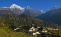 View from Gurung village