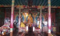 Buddha in side Nagi Gumba