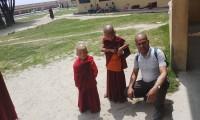 Child monks of Nagi Gumba