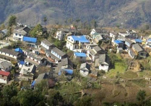 Sirubari hiking in Nepal